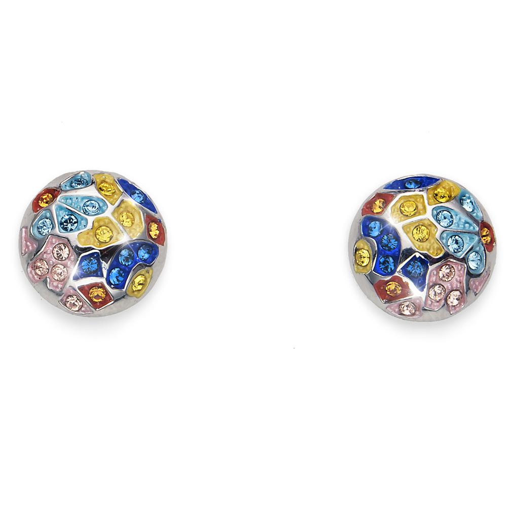 Náušnice s krystaly Swarovski Oliver Weber Gaudí