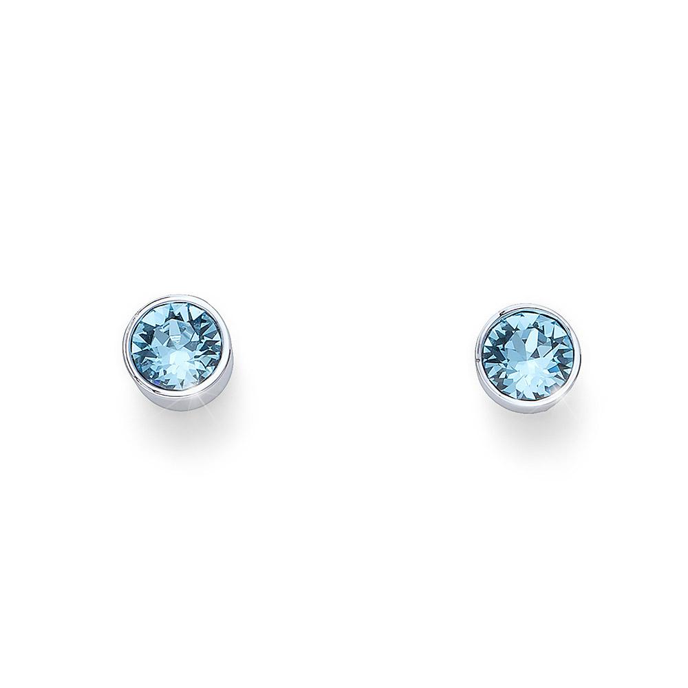 Náušnice s krystaly Swarovski Oliver Weber Uno 22623-202