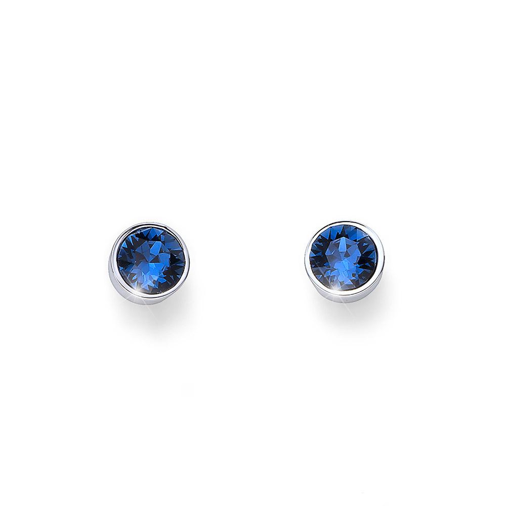 Náušnice s krystaly Swarovski Oliver Weber Uno 22623-207