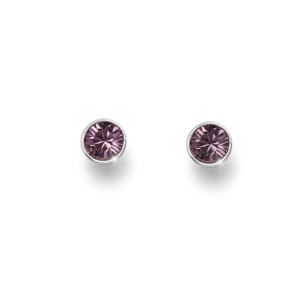 Náušnice s krystaly Swarovski Oliver Weber Uno 22623-920