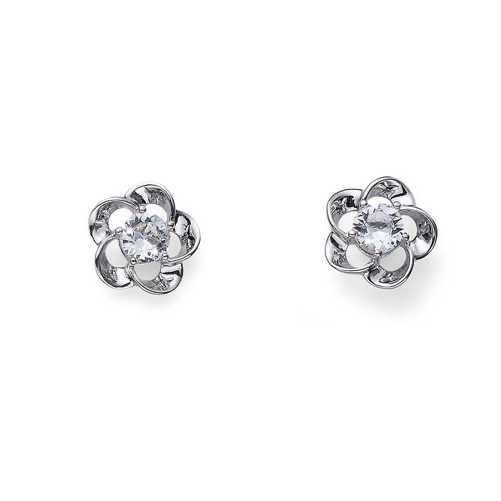Náušnice s krystaly Swarovski Oliver Weber Noon 22627
