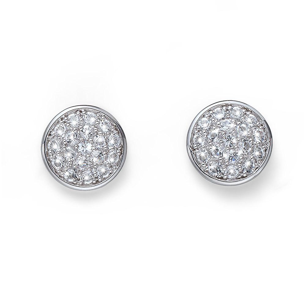 Náušnice s krystaly Swarovski Oliver Weber Pin  22628R