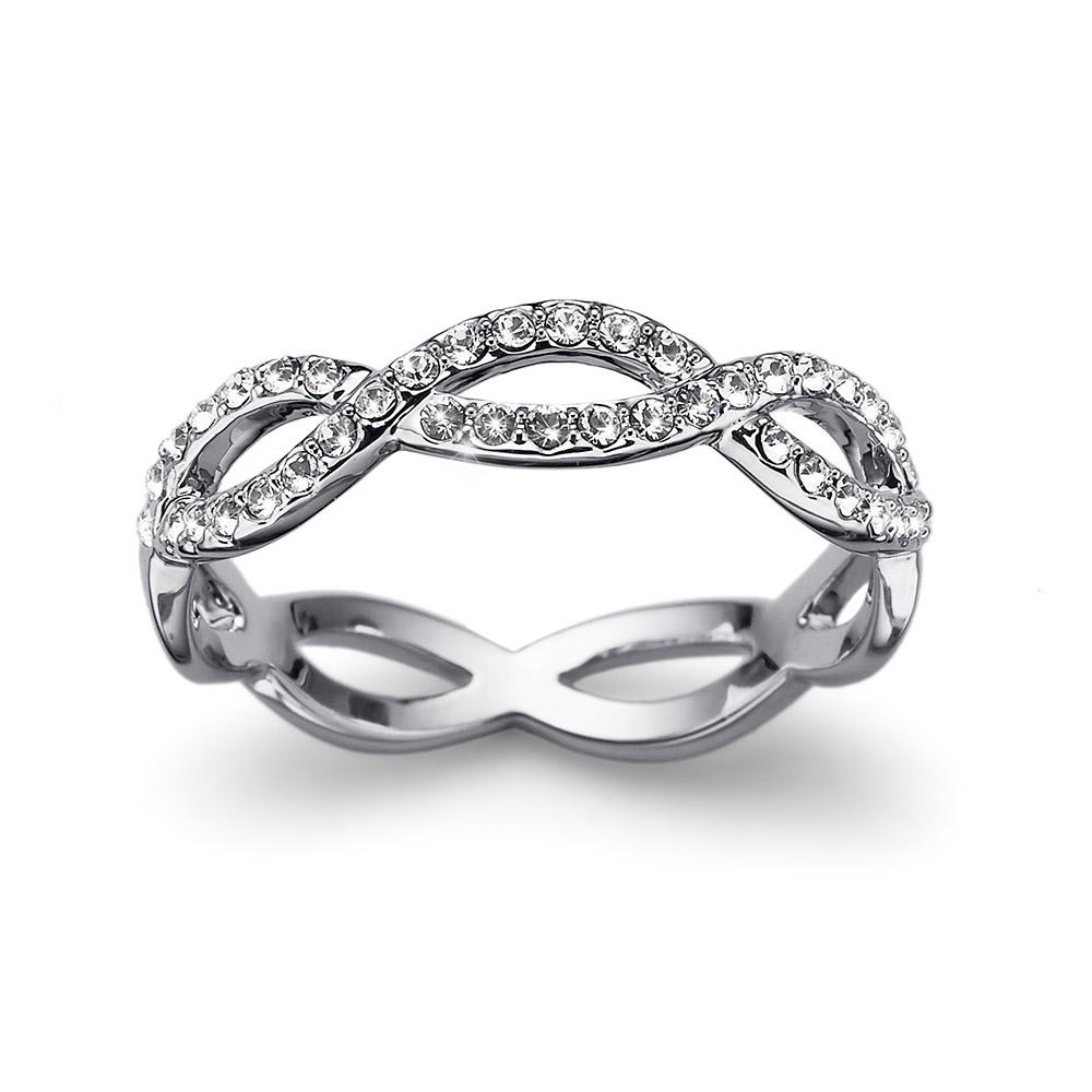 Prsten s krystaly Swarovski Oliver Weber Extra 41133