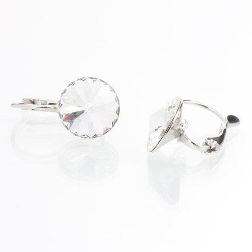 Náušnice s krystaly Swarovski Rivoli 12 Crystal