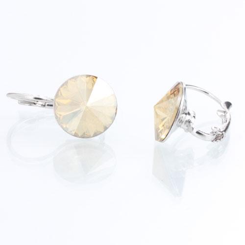 Náušnice s krystaly Swarovski Rivoli 12 Gold