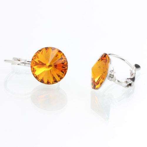 Náušnice s krystaly Swarovski Rivoli 12 44112212TOP
