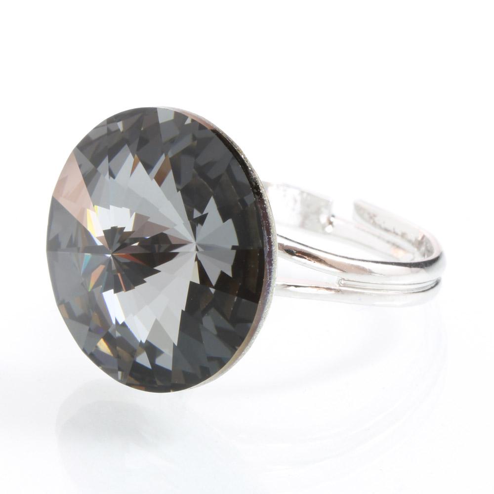 Prsten s krystaly Swarovski Rivoli 47112218BD