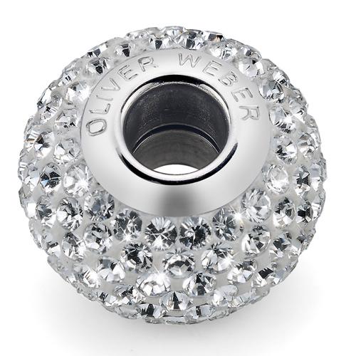 Přívěsek s krystaly Swarovski Oliver Weber Match Shine Crystal