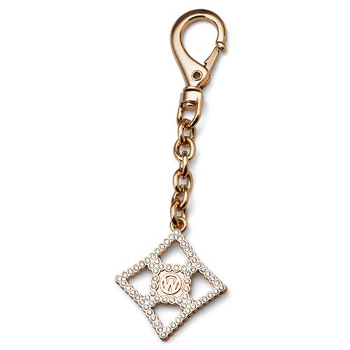 Přívěsek na klíče s krystaly Swarovski Oliver Weber OW Gold