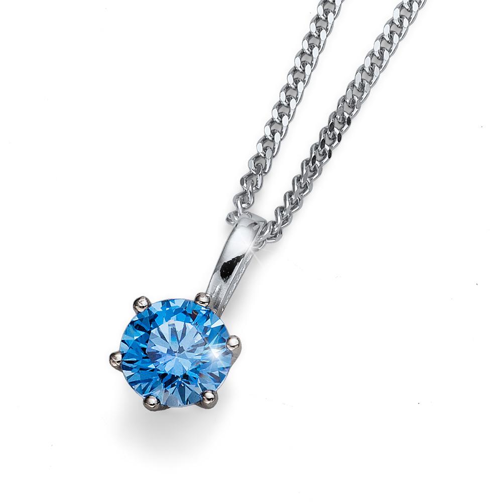 Přívěsek s krystaly Swarovski Oliver Weber Medium Blue