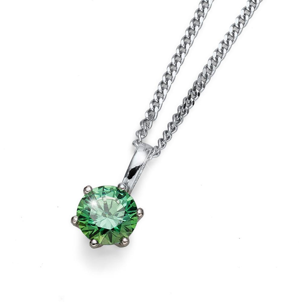 Přívěsek s krystaly Swarovski Oliver Weber Medium Green
