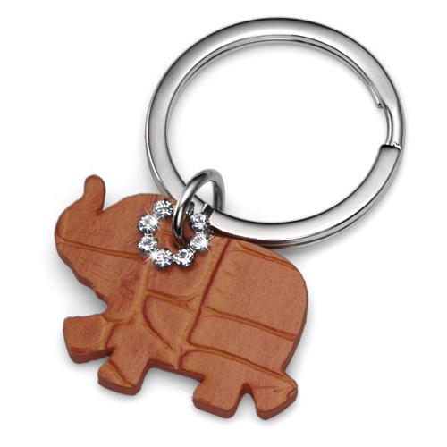 Přívěsek na klíče s krystaly Swarovski Oliver Weber Elephant Orange