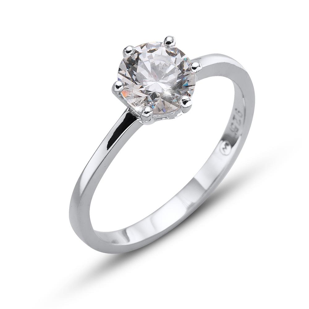Prsten s krystaly Swarovski Oliver Weber Brilliance Large Crystal