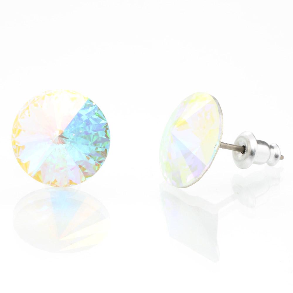 Náušnice s krystaly Swarovski 713853AB