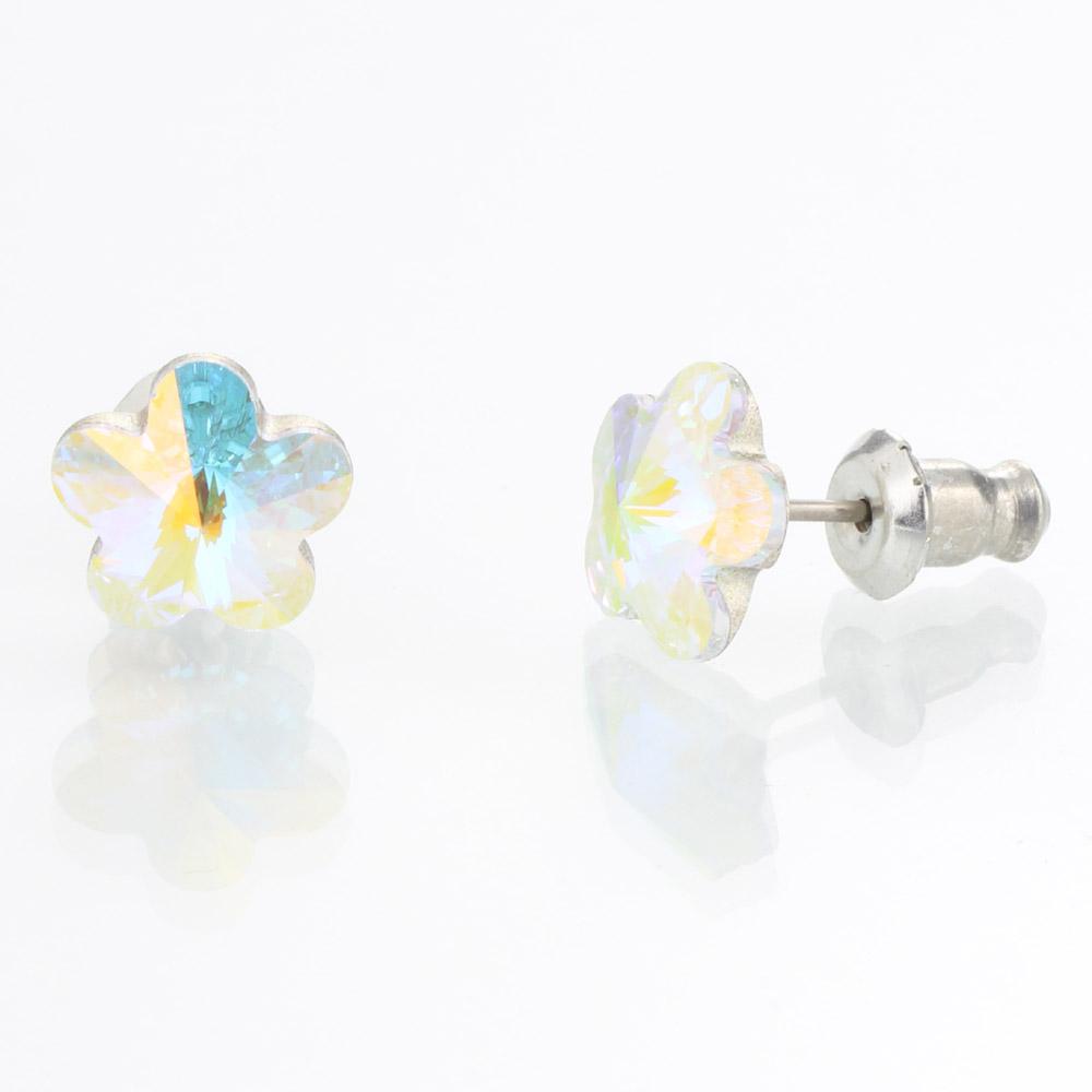 Náušnice s krystaly Swarovski 713856AB