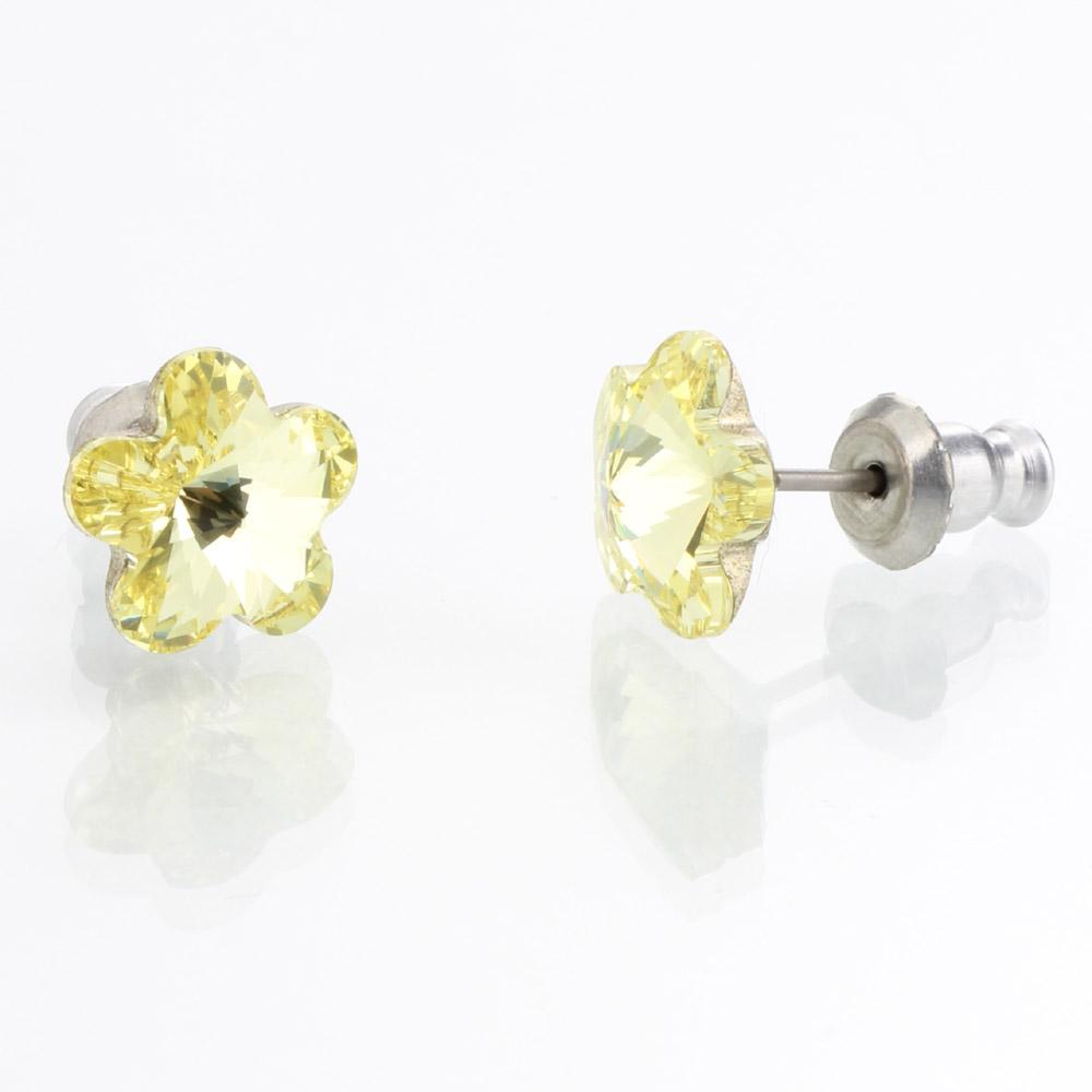 Náušnice s krystaly Swarovski 713856CIT