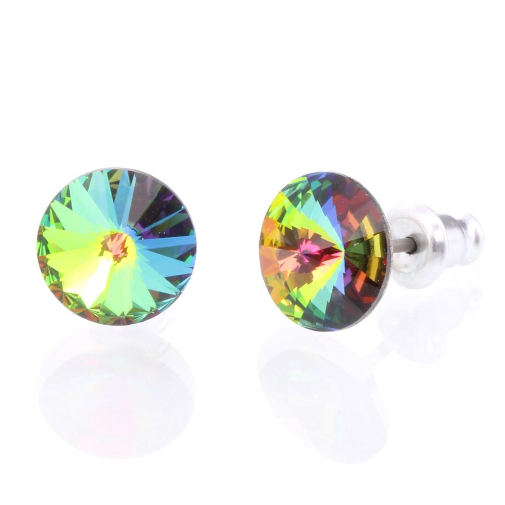 Náušnice s krystaly Swarovski 793853VM
