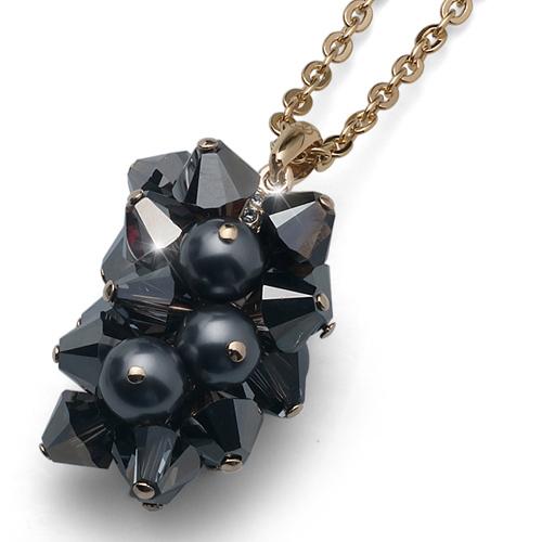 Přívěsek s krystaly Swarovski Oliver Weber Excite Gold
