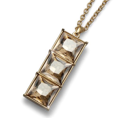 Přívěsek s krystaly Swarovski Oliver Weber Sturdy Gold