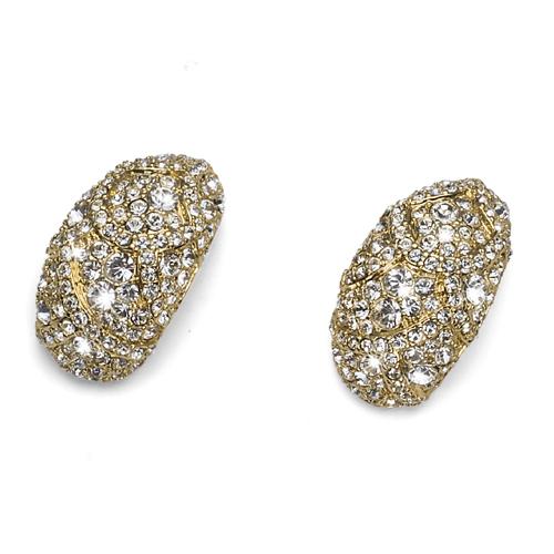 Náušnice s krystaly Swarovski Oliver Weber Mystery 9794G-001
