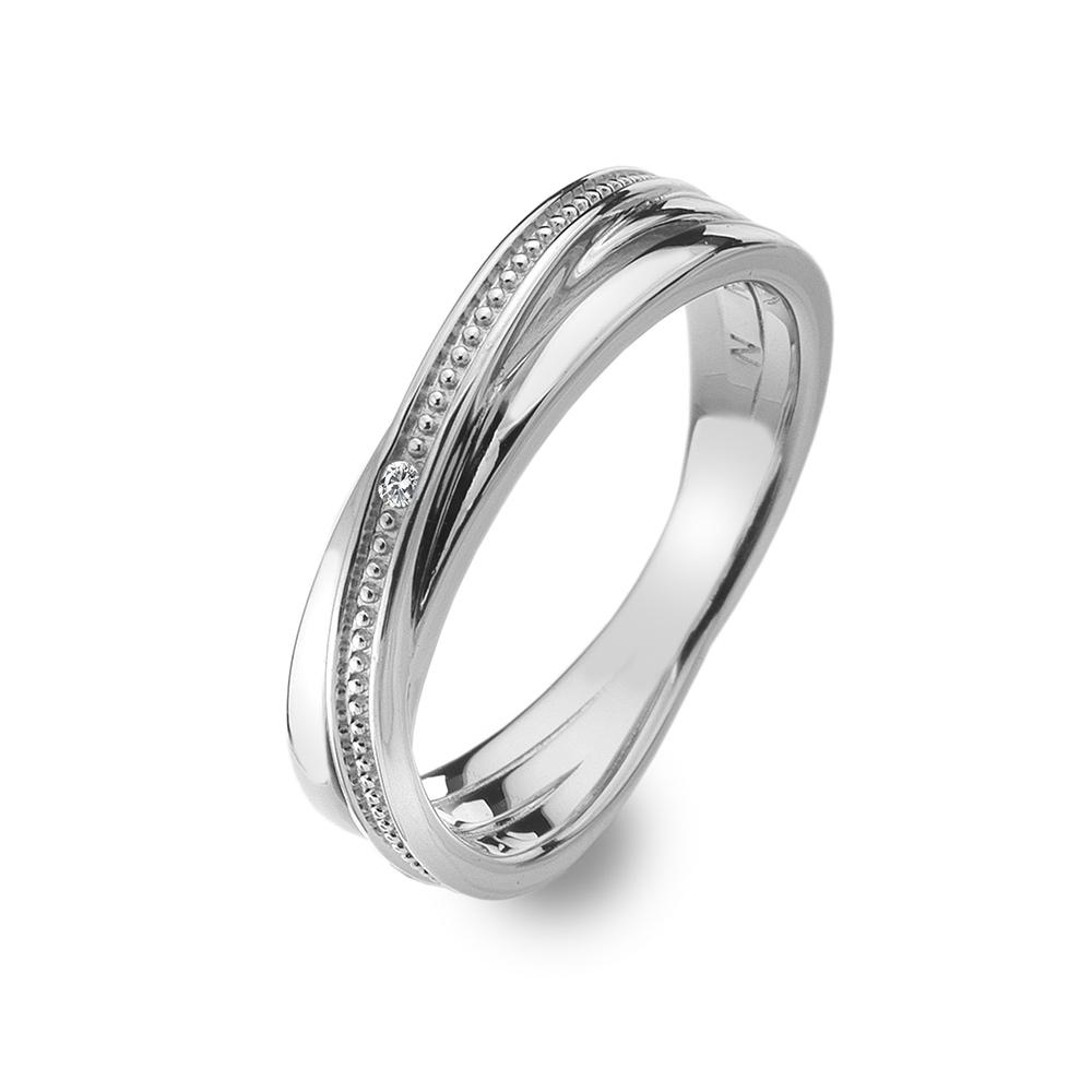 Støíbrný prsten Hot Diamonds Chandelier Vintage