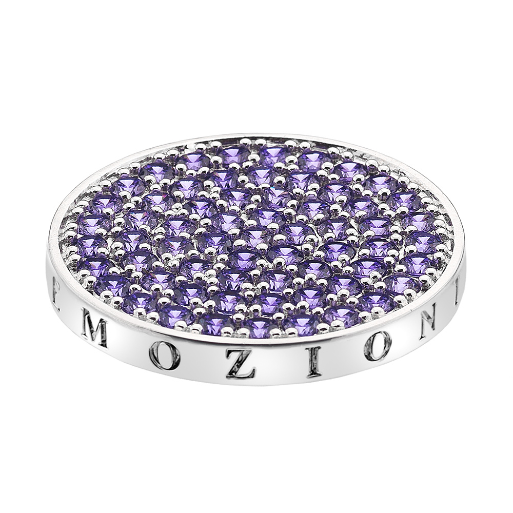 Pøívìsek Hot Diamonds Emozioni Scintilla Violet Spirituality Coin