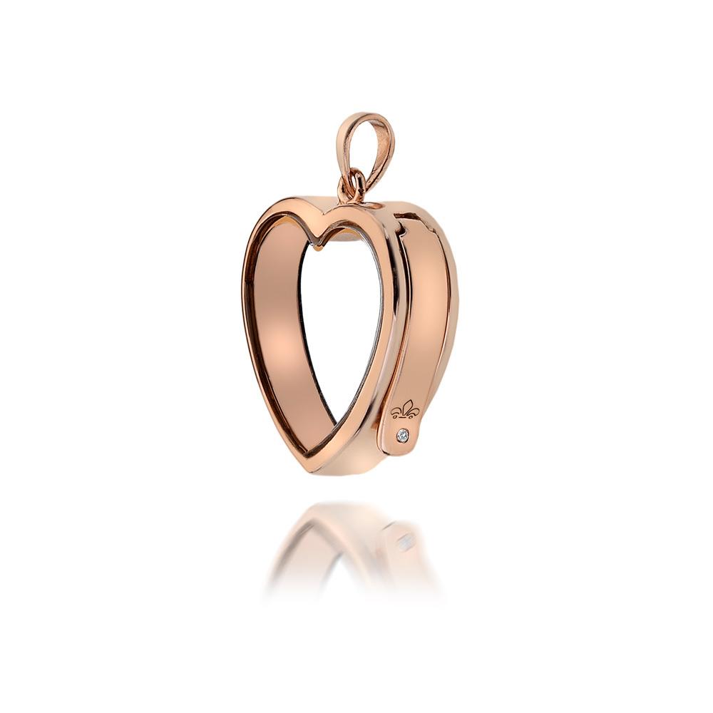 Přívěsek na elementy Hot Diamonds Anais Srdce EX004