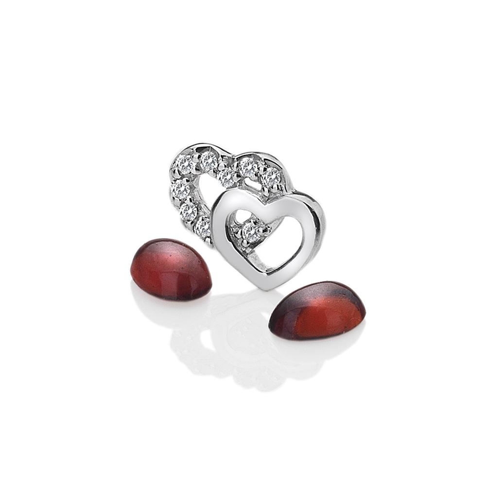 Pøívìsek Hot Diamonds Srdíèka Anais element EX106
