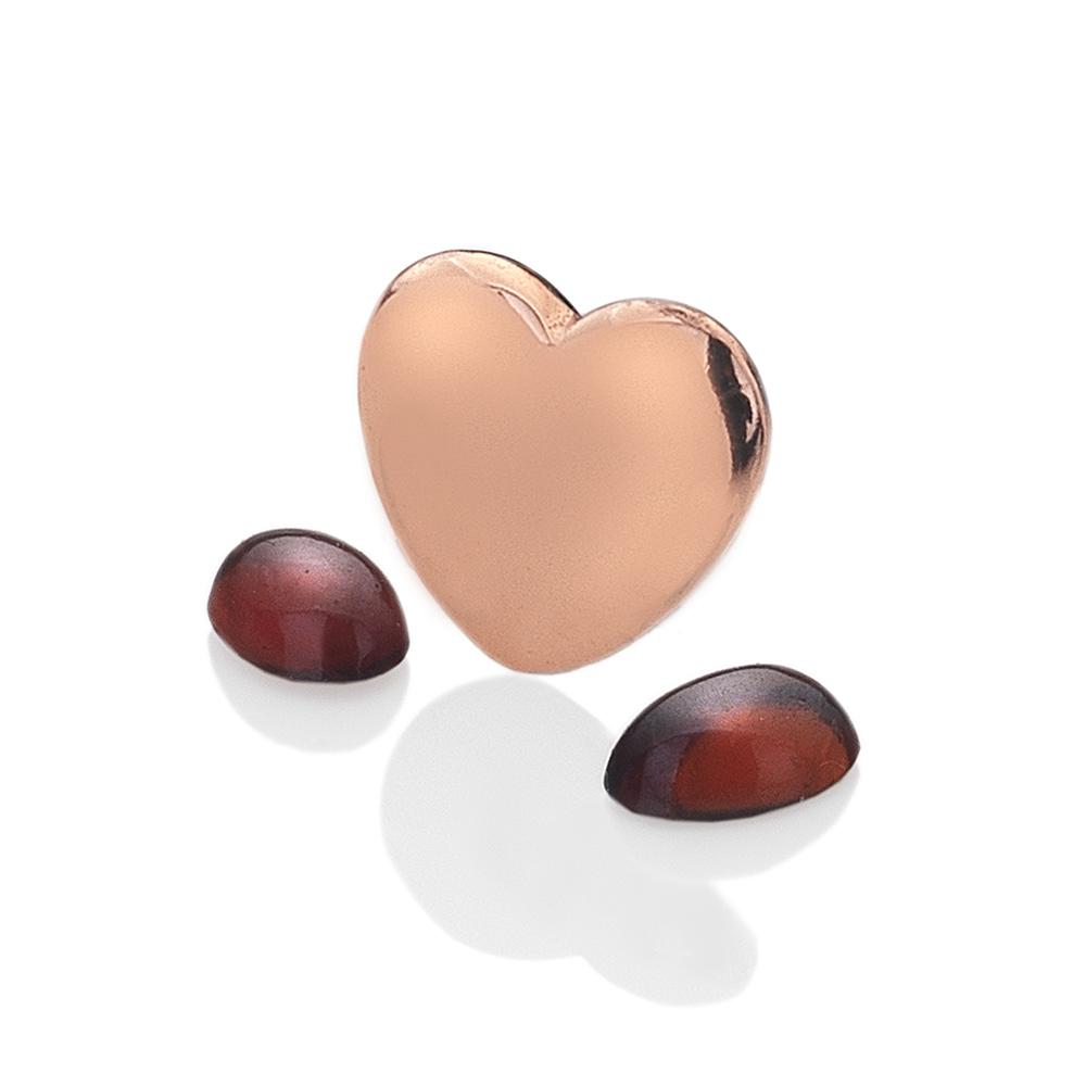 Přívěsek Hot Diamonds Srdce Leden Anais element EX132
