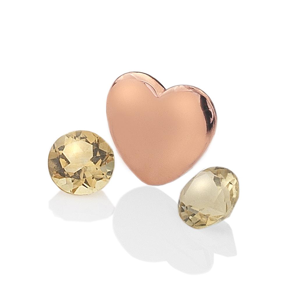 Přívěsek Hot Diamonds Srdce Listopad Anais element EX142