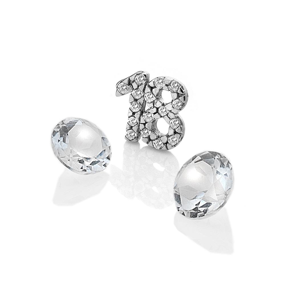 Přívěsek Hot Diamonds Osmnáct Anais element EX208