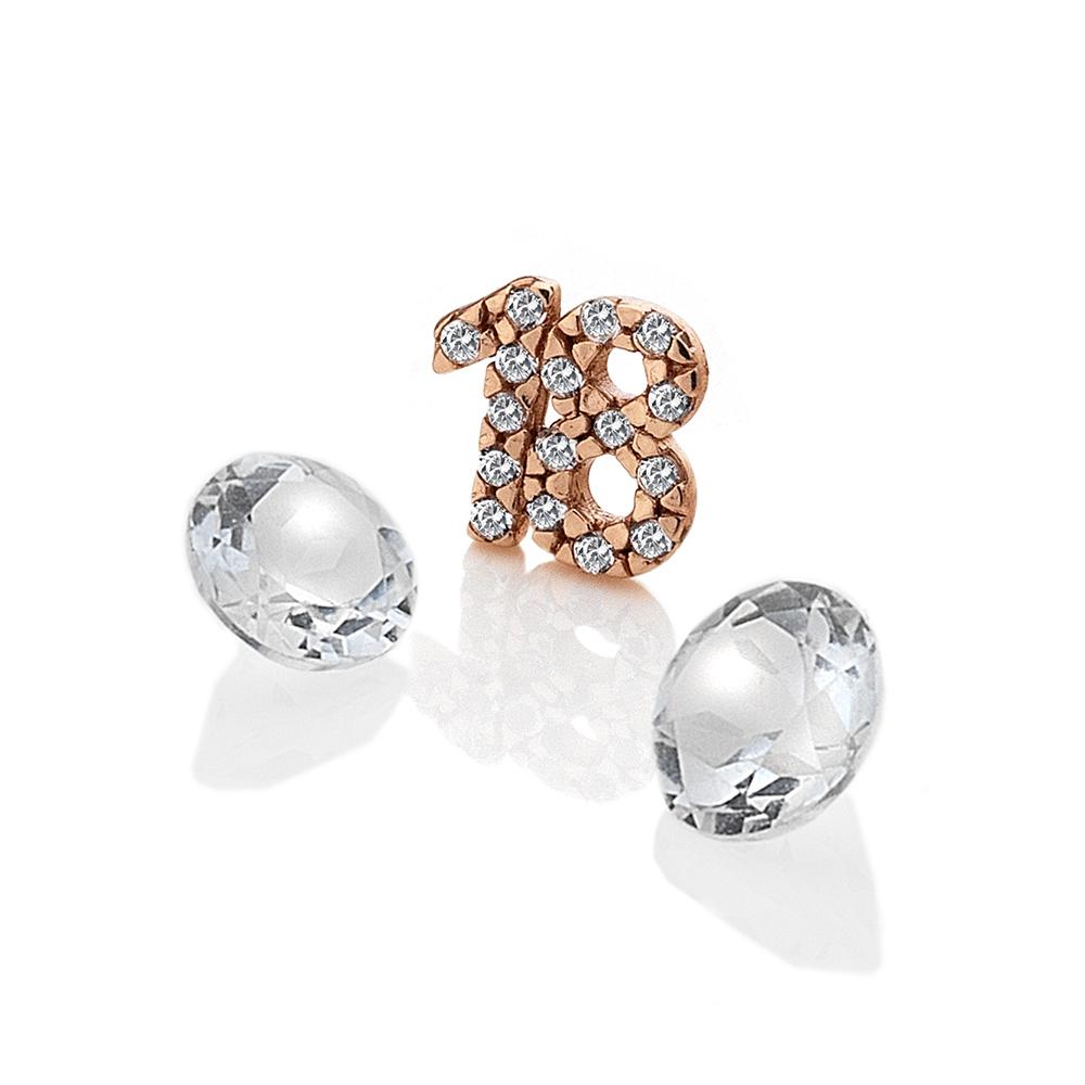 Přívěsek Hot Diamonds Osmnáct Anais element EX209