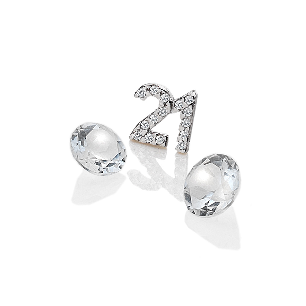 Přívěsek Hot Diamonds Jednadvacet Anais element EX210