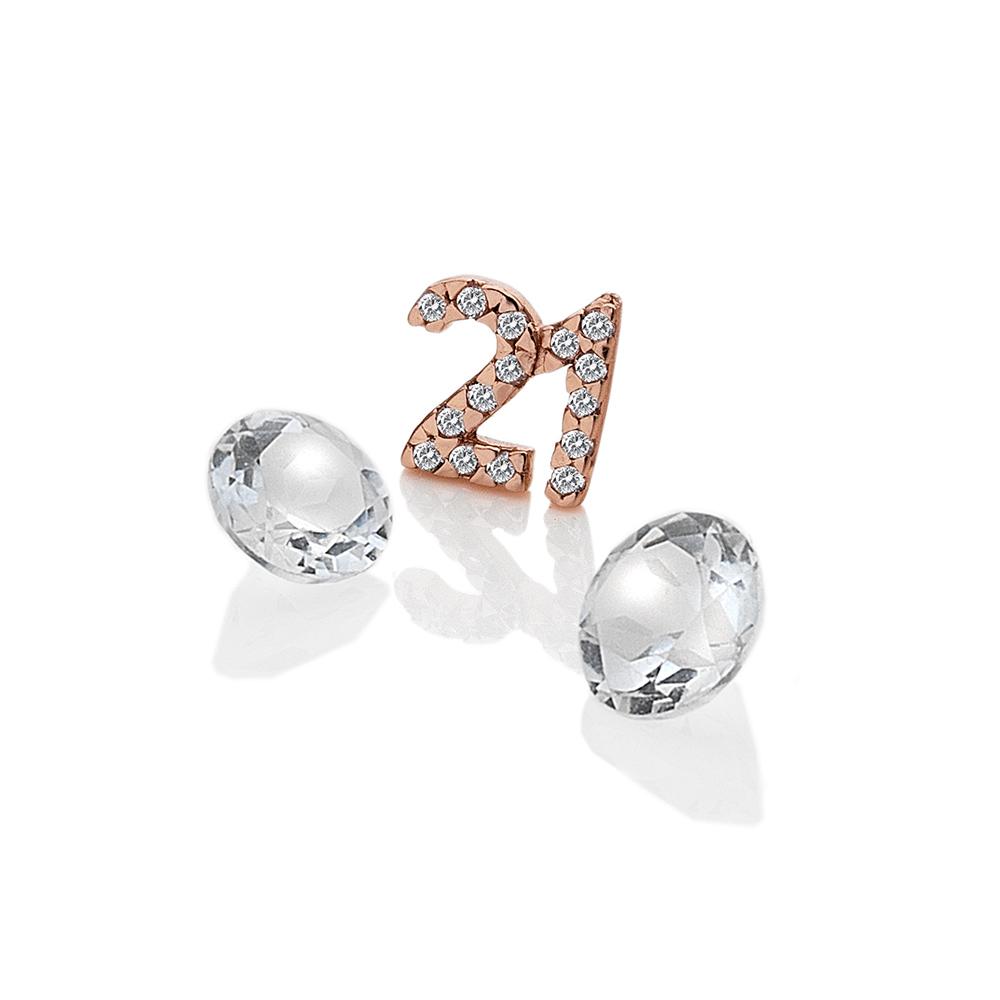 Pøívìsek Hot Diamonds Jednadvacet Anais element EX211