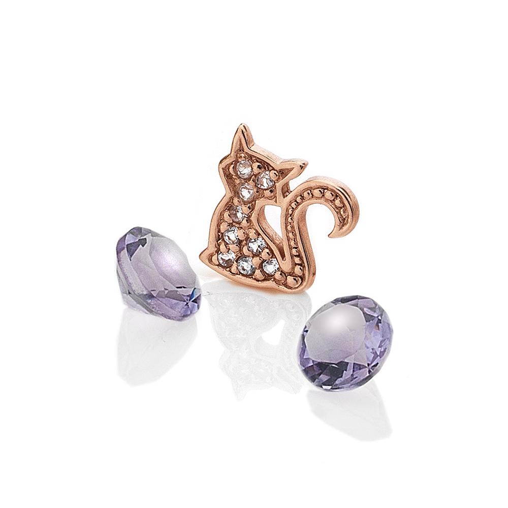 Přívěsek Hot Diamonds Kočka Anais element EX219