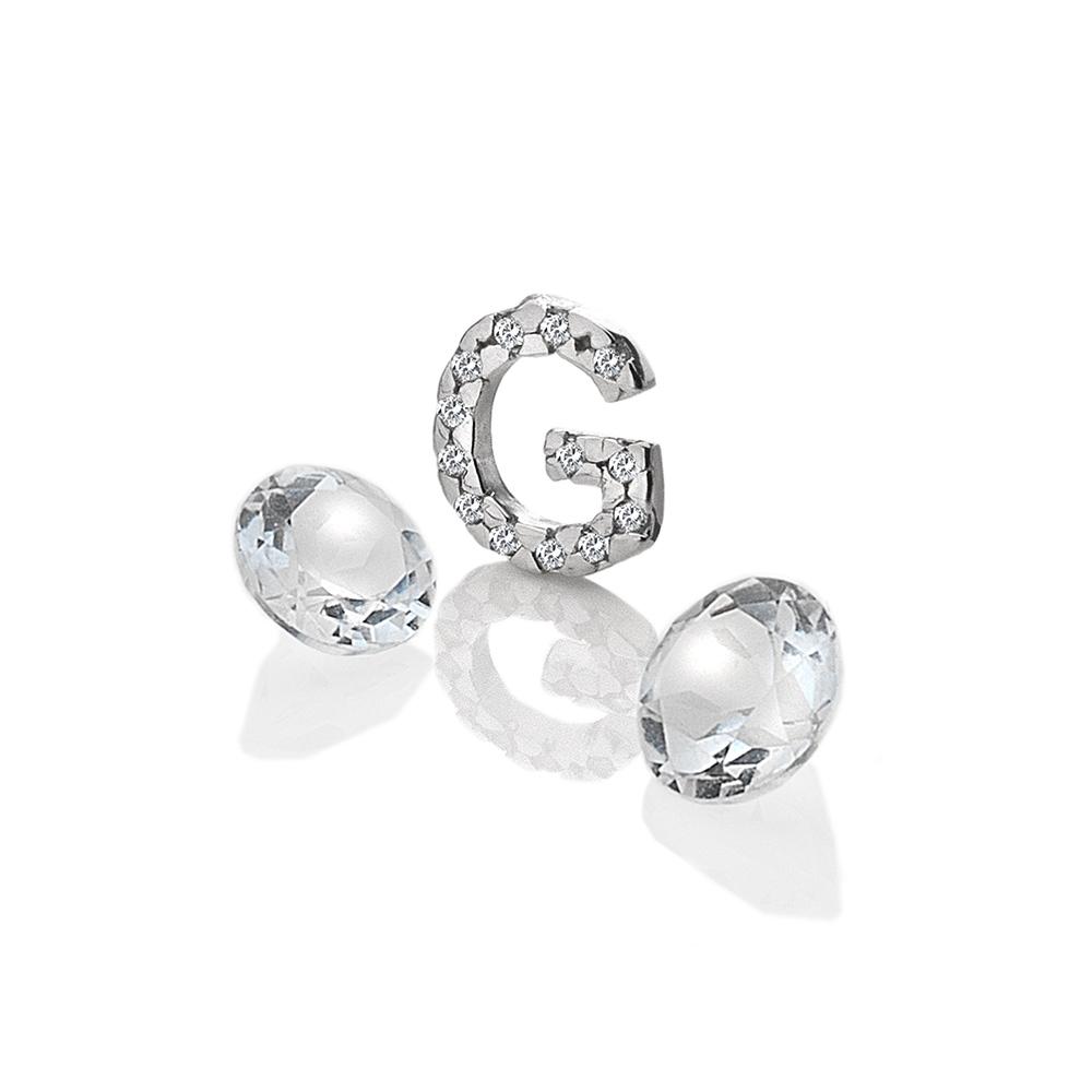 Pøívìsek Hot Diamonds Abeceda Anais element EX226