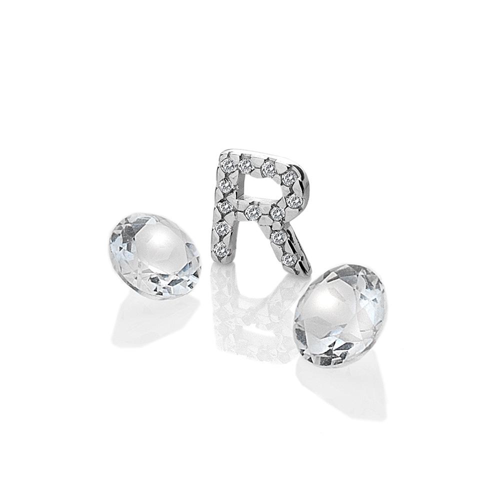 Přívěsek Hot Diamonds Abeceda Anais element EX237