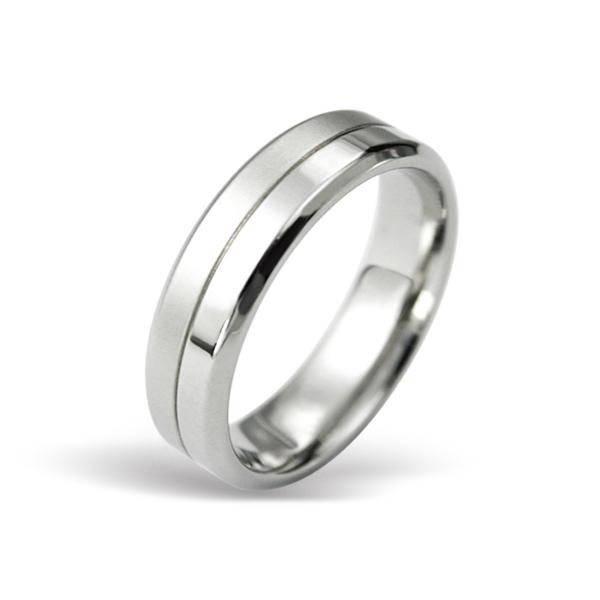 Prsten z chirurgické oceli RSS431