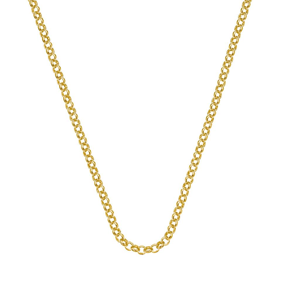 Stříbrný řetízek Hot Diamonds Emozioni Belcher Yellow 45