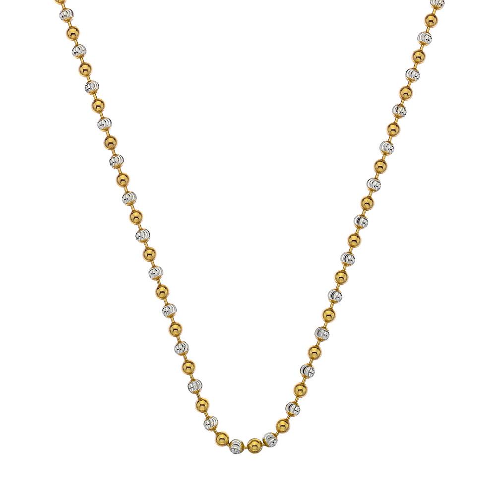 Stříbrný řetízek Hot Diamonds Emozioni Bead Yellow 61