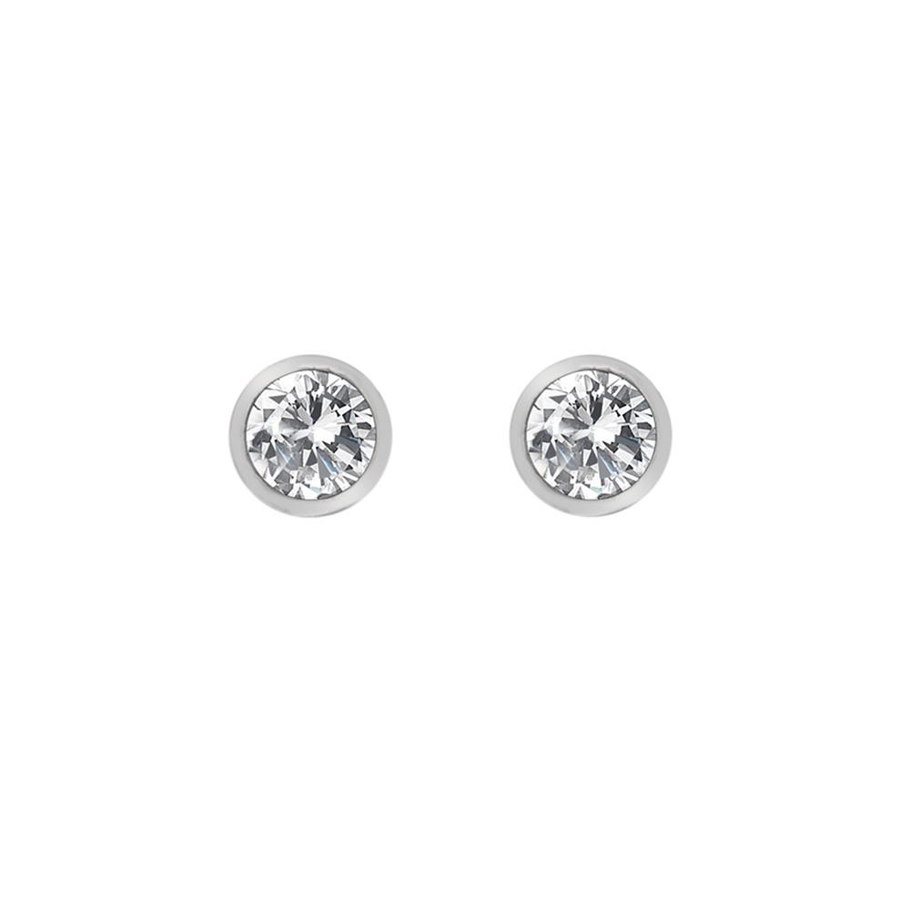 Stříbrné náušnice Hot Diamonds Willow DE584