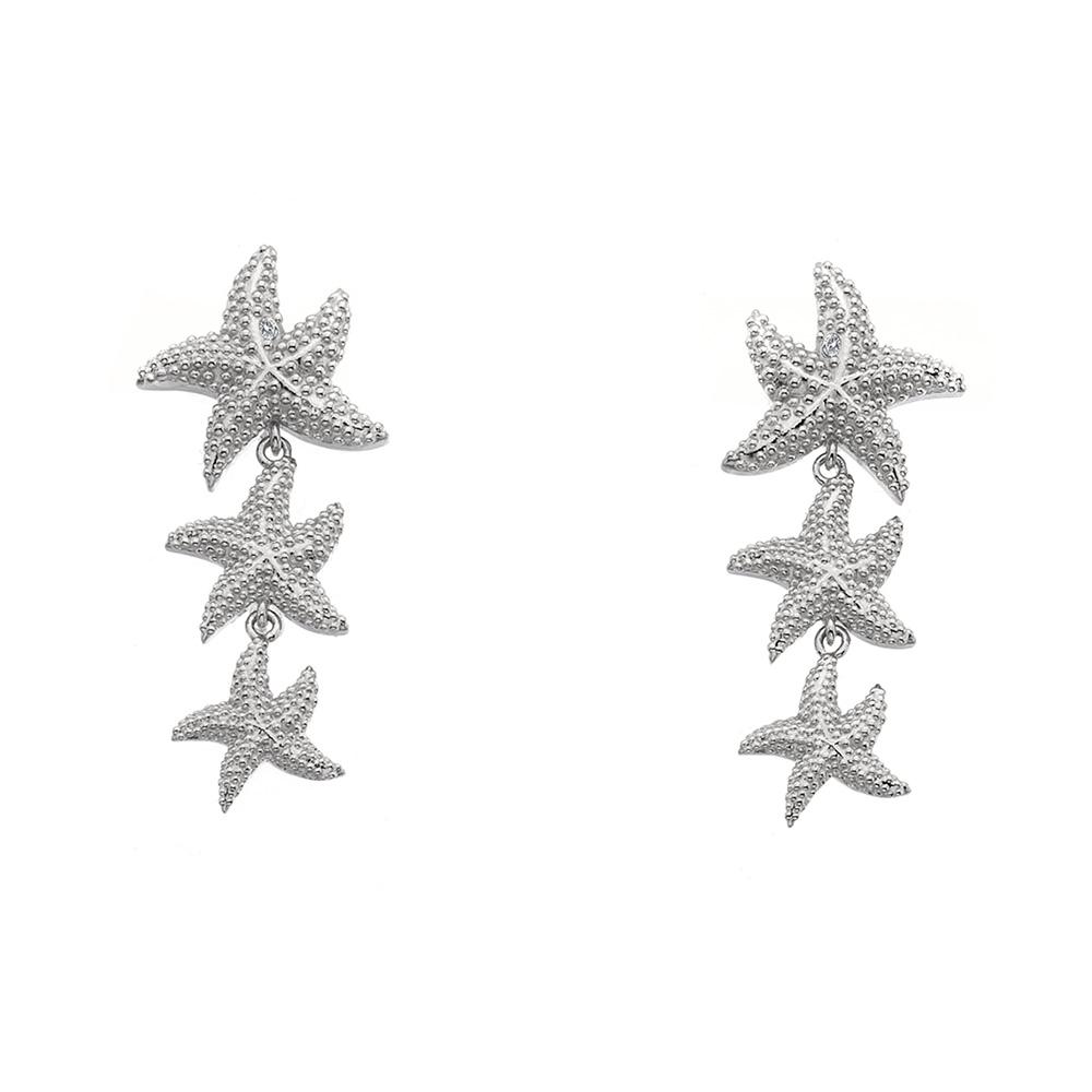 Støíbrné náušnice Hot Diamonds Daisy DE601