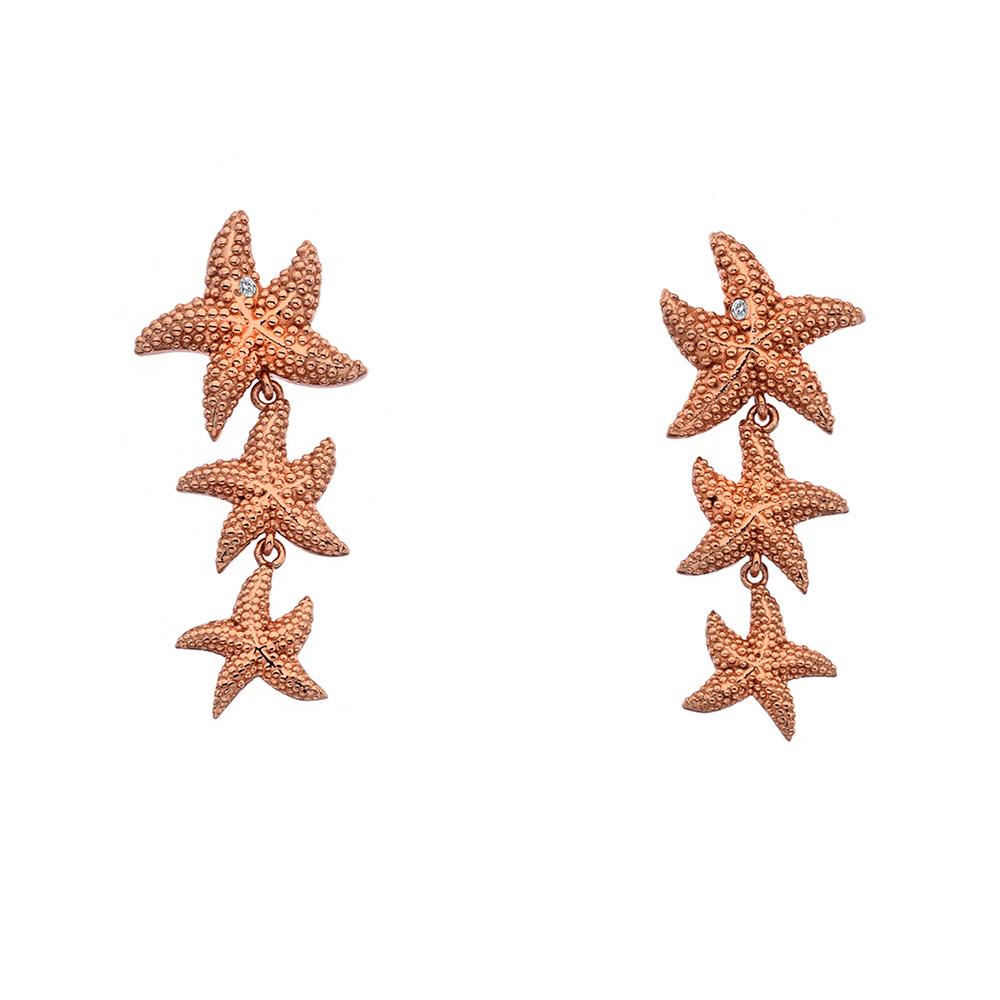 Støíbrné náušnice Hot Diamonds Daisy DE602
