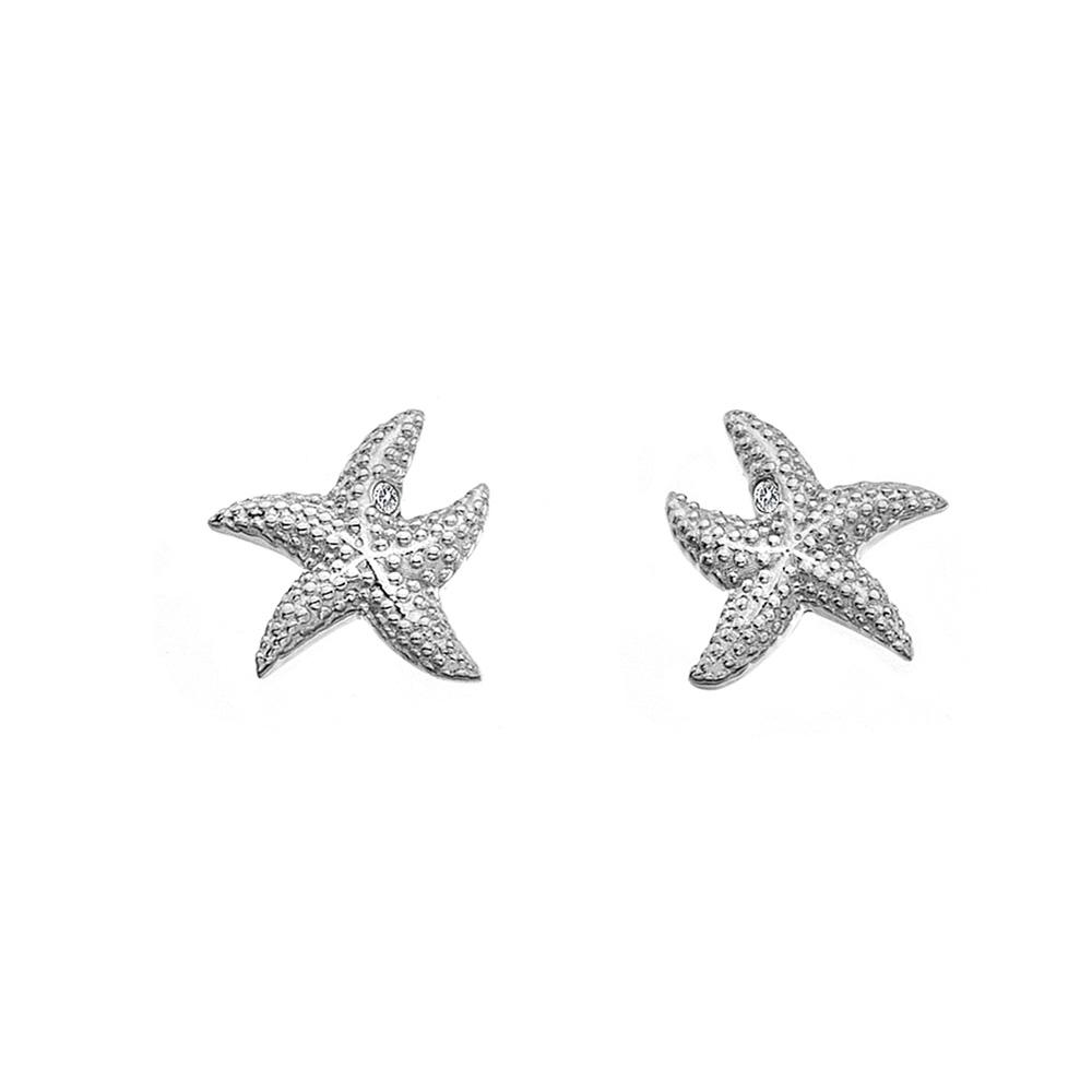 Støíbrné náušnice Hot Diamonds Daisy DE604