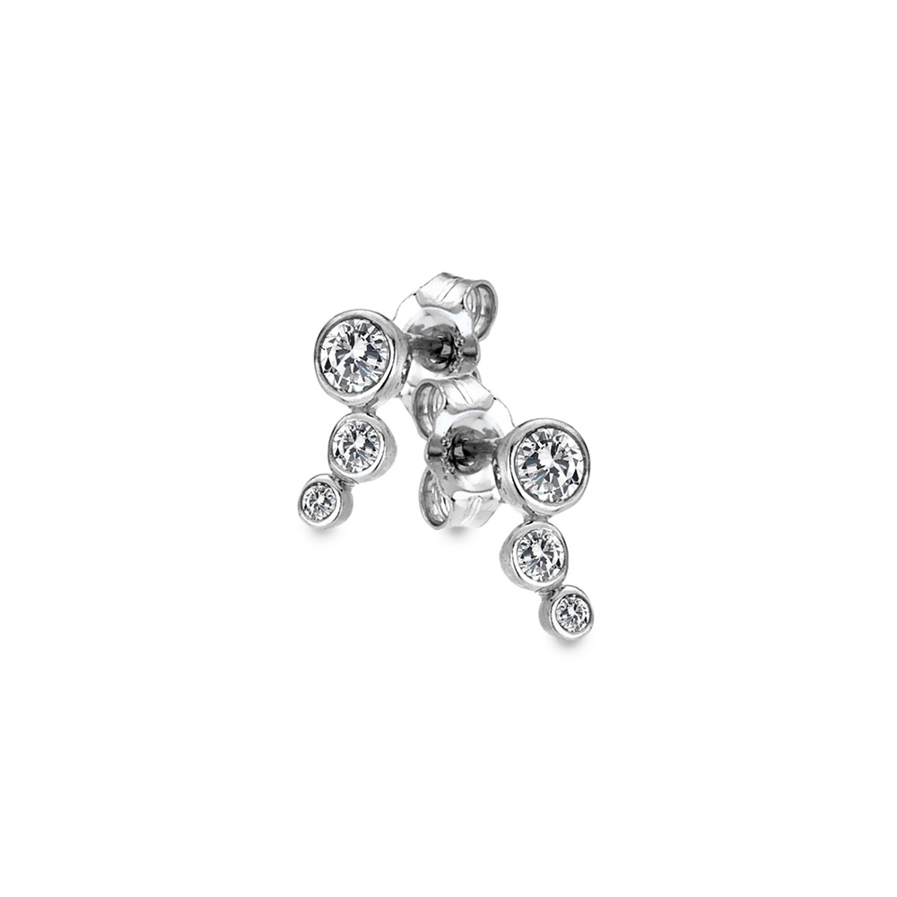 Stříbrné náušnice Hot Diamonds Tender DE640