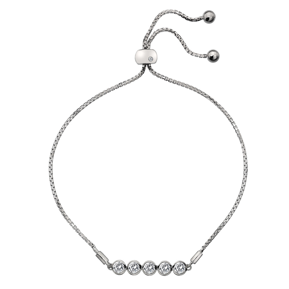 Støíbrný náramek Hot Diamonds Willow DL581