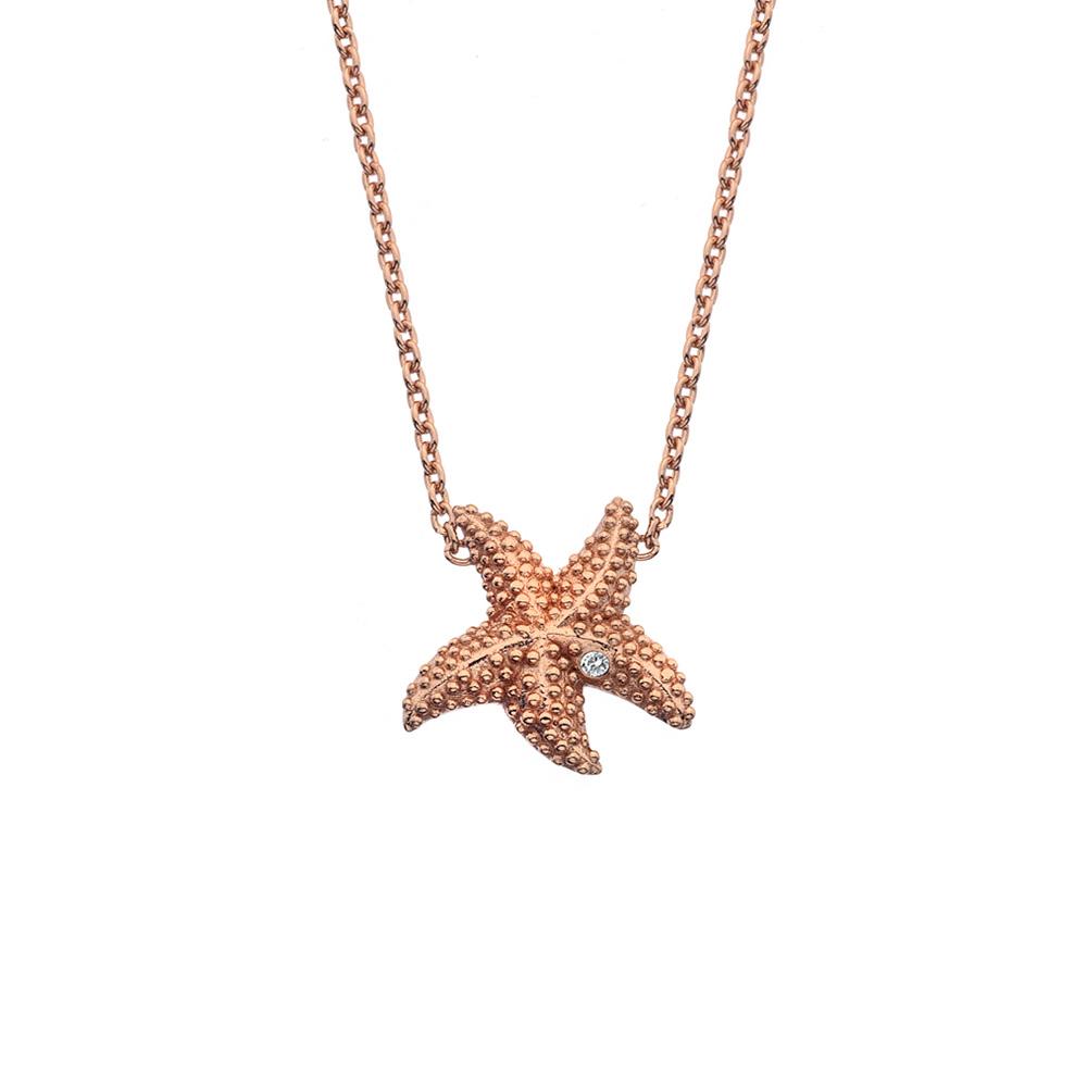 Støíbrný náhrdelník Hot Diamonds Daisy RG DN133