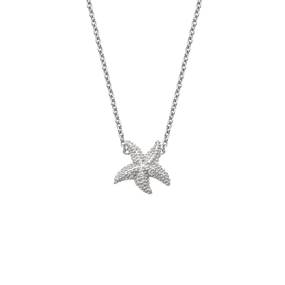 Stříbrný náhrdelník Hot Diamonds Daisy DN134