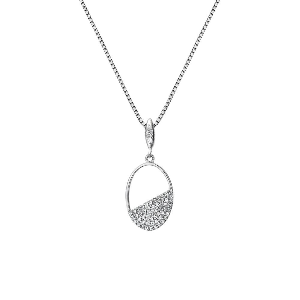 Stříbrný přívěsek Hot Diamonds Horizon Topaz DP767