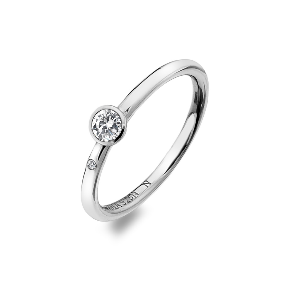 Støíbrný prsten Hot Diamonds Willow DR206
